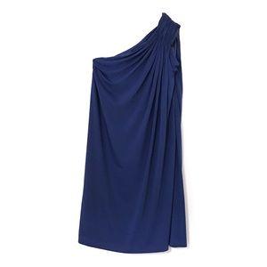 Halston Heritage Sapphire Cocktail Dress